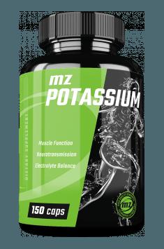 MZ Store Potassium - rekomendowany suplement z potasem